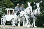Essex Wedding Carriage All weather glass coach for your wedding day