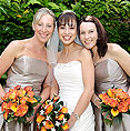 Essex Wedding Makeup as worn by smiling Bride and Bridesmaids