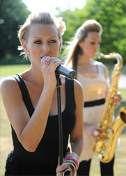 Wedding Musical Entertainment in Essex with Kay & Victoria of Sister Sax